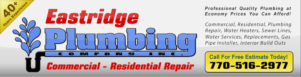 Johnny Eastridge Master Plumber License Mp006952 40 Years Experience